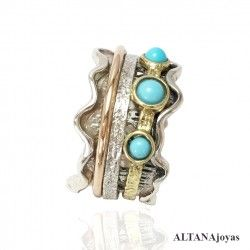 Anillo Antiestres Relieve...